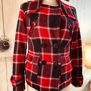 American Eagle Outfitters size small red and black